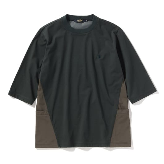 Durable N/C PlatingJersey6分袖Tシャツ