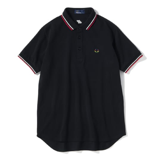 narifuri×FRED PERRY 蓄光鹿の子ポロシャツ 10th Anniversary Edition