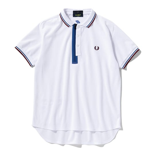 PLACKET DETAIL QUICK DRYING POLO SHIRT