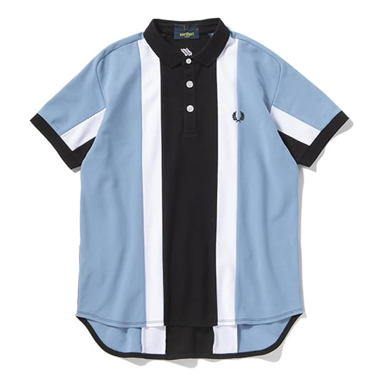 STRIPED QUICK DRYING POLO SHIRT
