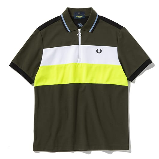 PANELLED QUICK DRYING POLO SHIRT