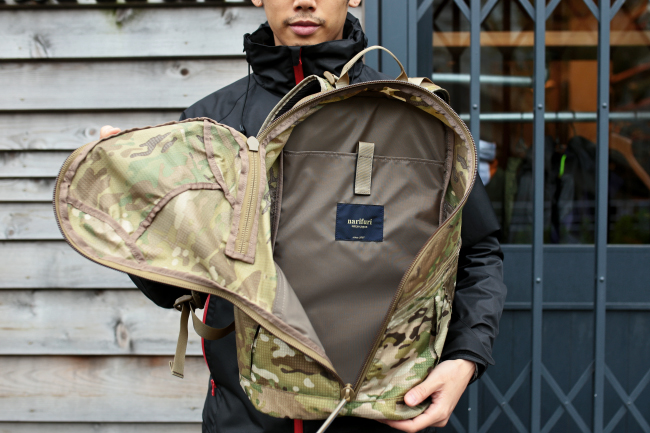 MULTICAM LITELOK : HATENA & Back Pack  -MIL Spec Collection-