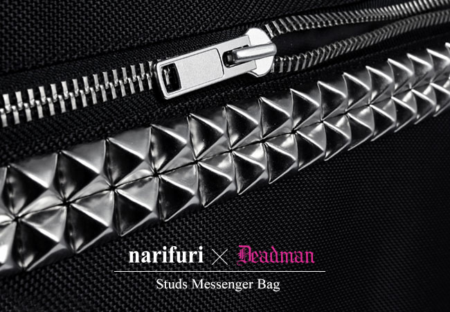 narifuri × DEAD MAN : STUDS MESSENGER BAG