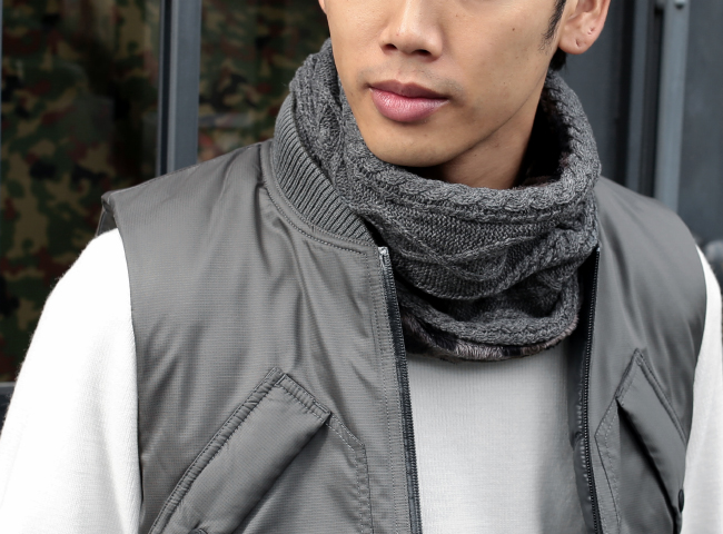 NF988 : Reversible Neck Warmer