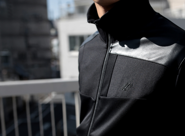 NF905 : Patch work  Track jacket