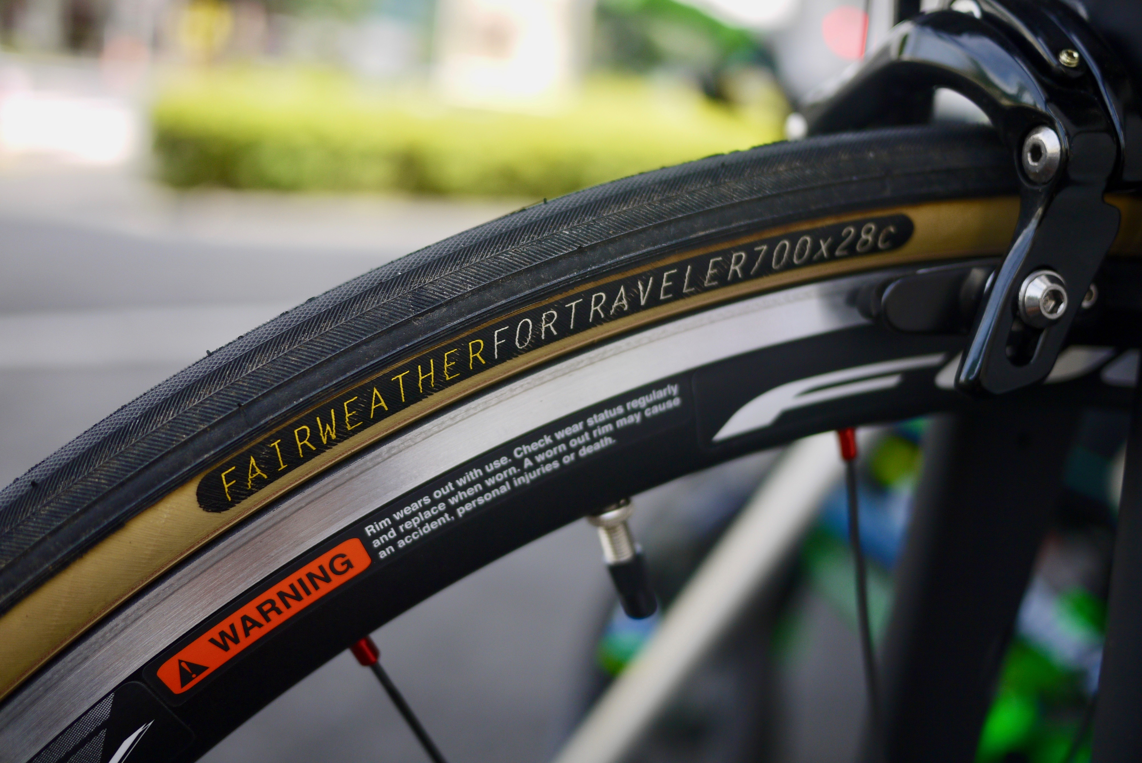 FAIRWEATHER Traveler Tire