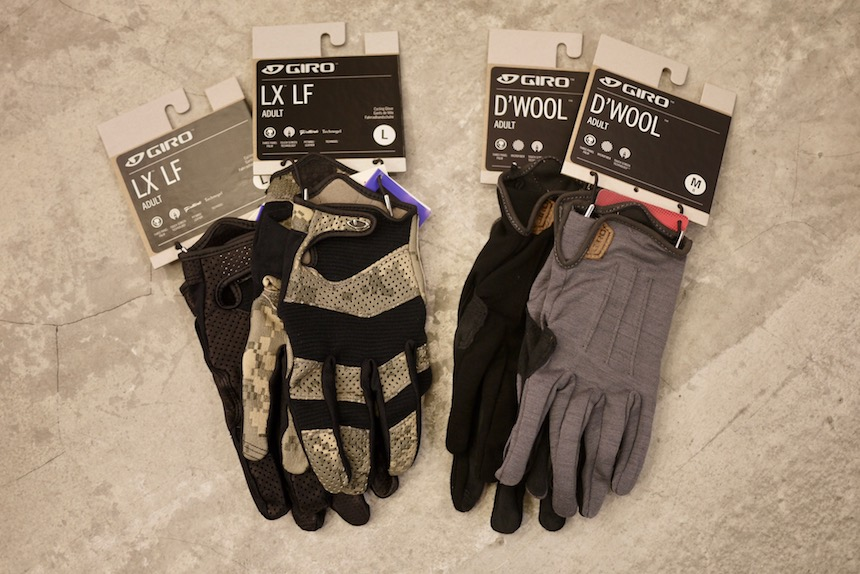 GIRO GLOVES : LX LF / D'WOOL
