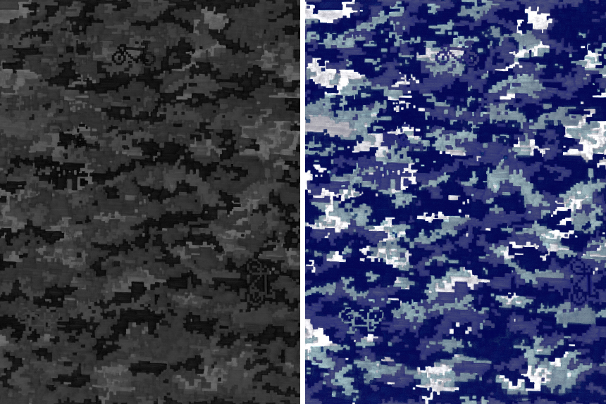 18AW / DIGITAL CAMOUFLAGE Series