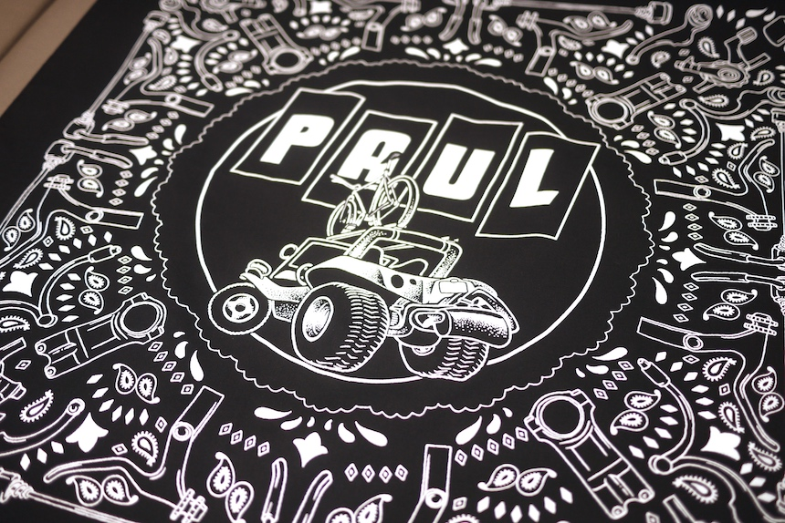 New item : PAUL / CHIM CHIM , DUNE BUGGY BANDANNA