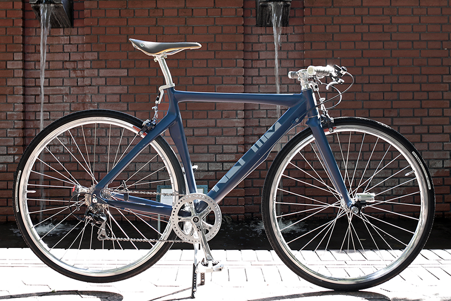 HELMZ H1 / Mat Navy  (by Cook Paint Works) 530 / Special commuter custom