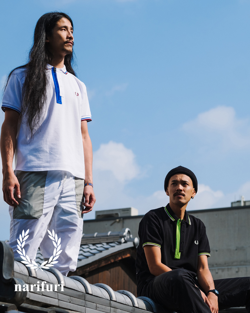 narifuri FRED PERRY Collection '20 Summer